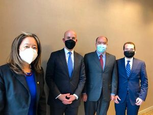 La oposición venezolana se reúne con asesor de Biden para Latinoamérica