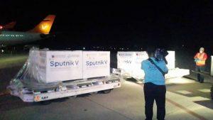 Sexto cargamento de la vacuna rusa Spunik V contra la COVID-19 llega a Venezuela