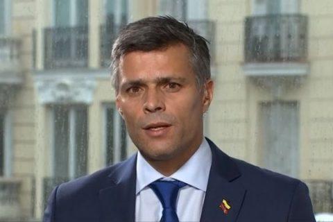 Leopoldo López dijo: «España tiene el deber histórico, moral de hacer todo lo que sea necesario para apoyar a Venezuela»
