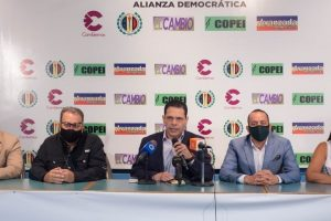 Alianza Democrática en el Zulia se comprometió a mantener proceso unitario para las próximas elecciones de gobernadores y alcaldes