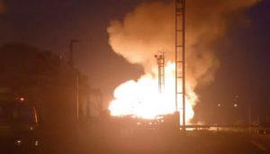 Reportan dos explosiones en planta de Pdvsa en Monagas