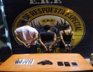 Tres detenidos y un arma recuperada en procedimiento policial en San Francisco