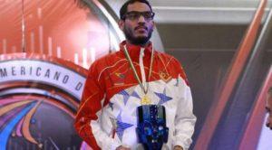 La esgrima venezolana estará representada por José Félix Quintero en los próximos juegos olímpicos