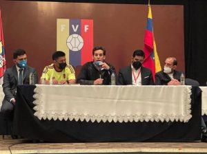 Federación Venezolana de Fútbol será presidida por Jorge Giménez