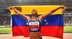 Yulimar Rojas conquistó el oro en Doha