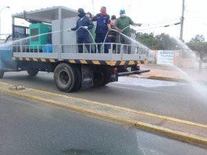 #Zulia | Realizan desinfección masiva en Lossada para contener la COVID-19