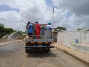 #Zulia | Alcaldía de Lossada desinfecta zonas afectadas con la COVID-19