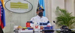 Gobernador Omar Prieto mostró preocupación por el incremento de los contagios por la COVID-19 en el Zulia