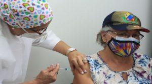 Jornada de vacunación para adultos mayores fue supervisada por el ejecutivo Regional