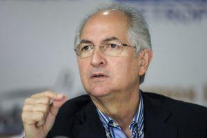 Antonio Ledezma asegura que las nuevas autoridades electorales que dicen ser parte de la oposición, han negociado con el gobierno nacional