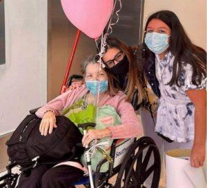 Zuliana Irma ya se encuentra con su familia en Estados Unidos luego de haber cruzado el río grande cargada