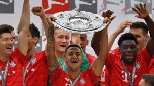 #Bundesliga   Bayer Múnich se proclamó campeón por novena vez consecutiva en Alemania