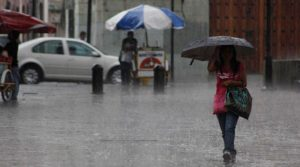 Lluvias continuarán este jueves en gran parte del territorio nacional