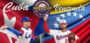 Vinotinto del Béisbol inicia ante Cuba el sueño de llegar a Tokio 2020