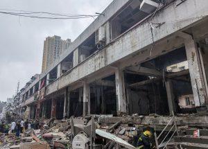 Explosión de gas en centro de China deja 12 muertos y 138 heridos