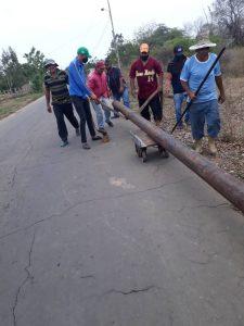 #Zulia| Alcaldía de Lossada retomó proyecto de gasificación del eje El Curarire-Las Amalias