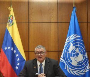 Venezuela abogó por la producción sostenible y sustentable en cumbre sobre sistemas alimentarios