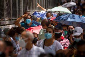 Venezuela suma 1.527 contagios de la COVID-19