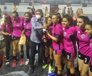 Zulia, héroe en la Batalla de Carabobo del fútbol de salón femenino