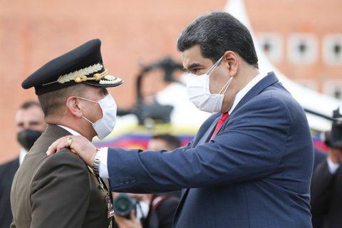 Maduro revisa plan de defensa nacional con el Estado Mayor de la FANB