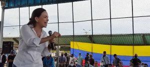 María Corina desde Maracaibo: «El 21 de noviembre se caen muchas caretas»