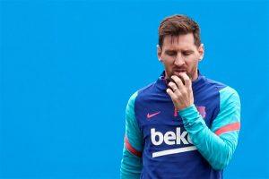 Leo Messi no jugará más con el Barça