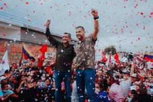 Omar Prieto Fernández y Willy Casanova reciben contundente apoyo de la Parroquia Francisco Eugenio Bustamante de Maracaibo