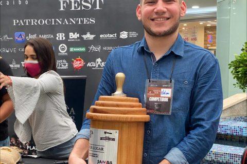 #Maracaibo | Nelson Castillo gana competencia regional de café