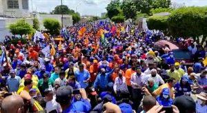 Llenos de esperanza zulianos desbordaron las calles del Zulia para respaldar a Manuel Rosales