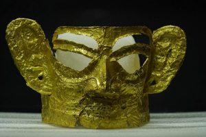 El hallazgo arqueológico de Sanxingdui y un vistazo a civilizaciones en cuatro continentes a través de una máscara de oro