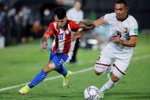 #Eliminatorias | 2-1. Paraguay obtiene ante Venezuela su primer triunfo en casa