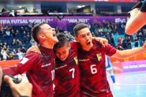#FutsalWC | Termina la fase de grupos para Venezuela con igualdad ante Kazajistán
