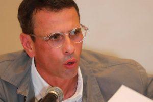 Capriles: suspender diálogo venezolano por extradición de Saab es una excusa