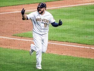 #MLB | Cuadrangular de Rowdy Tellez decide primer triunfo de Cerveceros