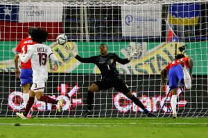 Venezuela cae 3-0 frente a Chile