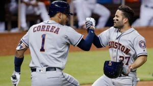 #MLB   Correa y Astros aseguran título división y jugarán «playoffs» ante Chicago