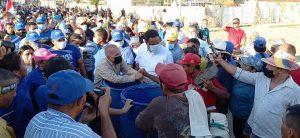 Manuel Rosales y Rafael Ramírez recorrieron el oeste de Maracaibo